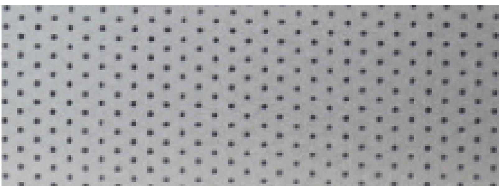 Srebrny perforowany nr koloru 4417P (Dopłata 40%)
